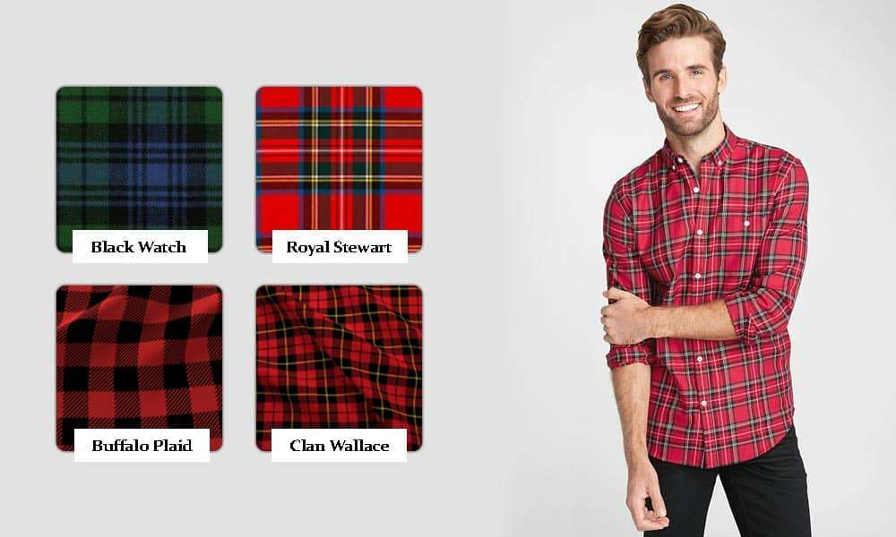 types of plaid and their names