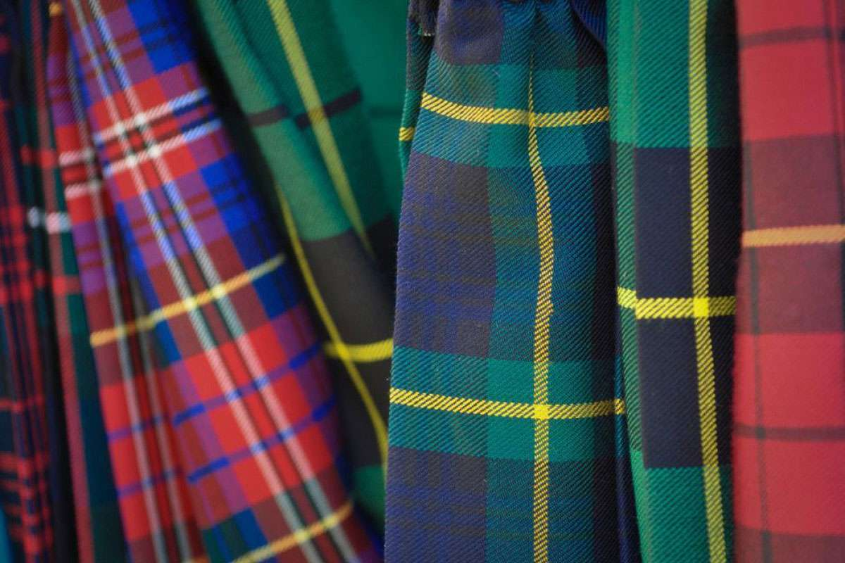 fact about plaids and tartans