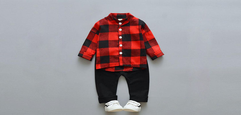 toddler boy buffalo plaid